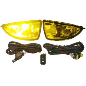 Amber Front Driving Fog Lights Lamps For Honda Civic 04-05