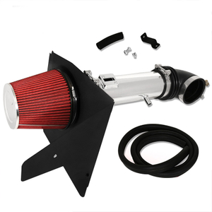 Racing Cold Air Intake Pipe + Heat Shield System For Chevrolet Camaro V6 12-15